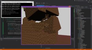 The Voxtric voxel engine in action